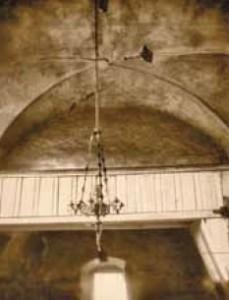 ulucz-cerkiew parafialna-sklepienie