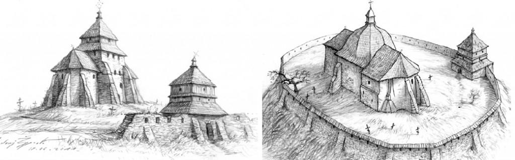 ulucz-cerkiew parafialna-szkic