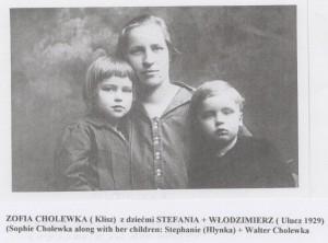 Zofia  Cholewka